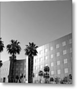 View From Valley Parking Lot Metal Print by Denice Breaux
