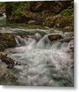 View In Vintgar Gorge #2 - Slovenia Metal Print