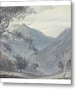 View Near Sallanches Metal Print