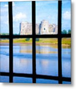 View Of A Wales' Castle Metal Print