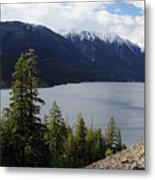 View Of Anderson Lake Metal Print by Pierre Leclerc Photography