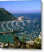 View Of Avalon Harbor Metal Print