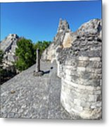 View Of Becan, Mexico Metal Print
