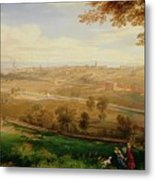 View Of Bradford Metal Print