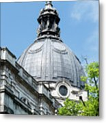 View Of Brompton Oratory Dome Kensington London England Metal Print