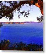 View Of  Central Coast From West Head  Metal Print