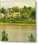 View Of Covington Kentucky Metal Print