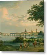 View Of Dresden Metal Print