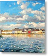 View Of Galway Harbour Metal Print