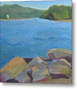 View Of Hamburg Cove Metal Print