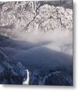 View Of Julian Alps From Vogel Mountain Metal Print