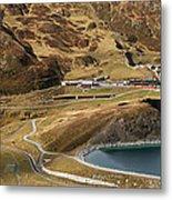 View Of Kleine Scheidegg Metal Print
