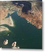 View Of Lake Powell Metal Print