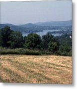 View Of Lake Waramaug Metal Print