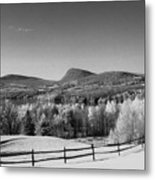 View Of Lake Willoughby Metal Print