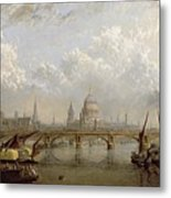 View Of London  Metal Print