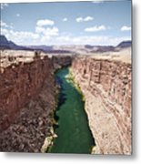 View Of Marble Canyon From The Navajo Bridge Metal Print