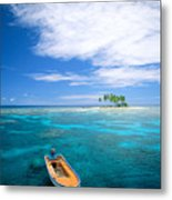 View Of Micronesia Metal Print