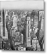 View Of Midtown Manhattan Metal Print