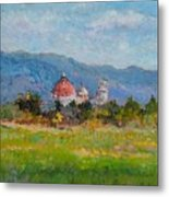 View Of Pisa From Countryside Metal Print