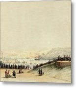 View Of Plymouth Hoe Metal Print