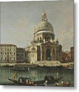 View Of Santa Maria Della Salute. Venice Metal Print