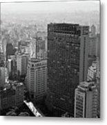 View Of Sao Paulo Metal Print