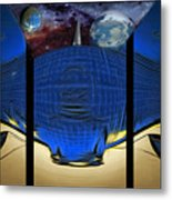 View Of Space From The Observatory Metal Print