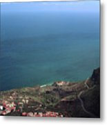 View Of Teide From La Gomera Metal Print