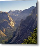View Of Tenaya Canyon Metal Print by Coyright Roy Prasad