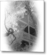 View Of The Balcony  Metal Print