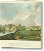 View Of The Battle Ground At Concord Mass Metal Print