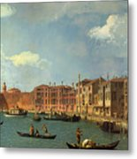View Of The Canal Of Santa Chiara Metal Print