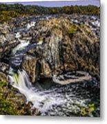 View Of The Great Falls Metal Print