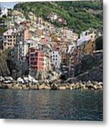 View Of The Riomaggiore, La Spezia Metal Print