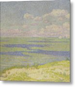 View Of The River Scheldt Metal Print