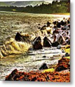 View Of The Sugarloaf Mountain From Killiney Metal Print
