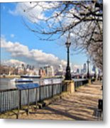 View Of The Thames Metal Print