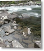View Of The Wenatchee River Metal Print
