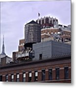 View Of Water Tank From High Line Park Metal Print