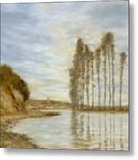 View On The Seine,  Harp Of The Winds , Homer Dodge Martin Metal Print