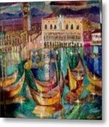 View On Venice Metal Print