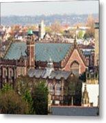 View Over Bristol With Bristol Grammar School Metal Print