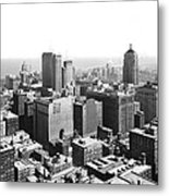 View Over Downtown Chicago Metal Print