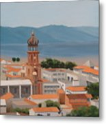 View Over Puerto Vallarta Metal Print