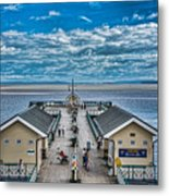 View Over The Pier Metal Print