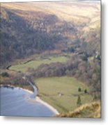 View Over The Wicklow Hills Metal Print