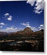 View Overlooking Sedona, Arizona Metal Print