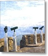 View The Columbia At The Vista House Metal Print