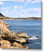 View To Sand Beach Metal Print